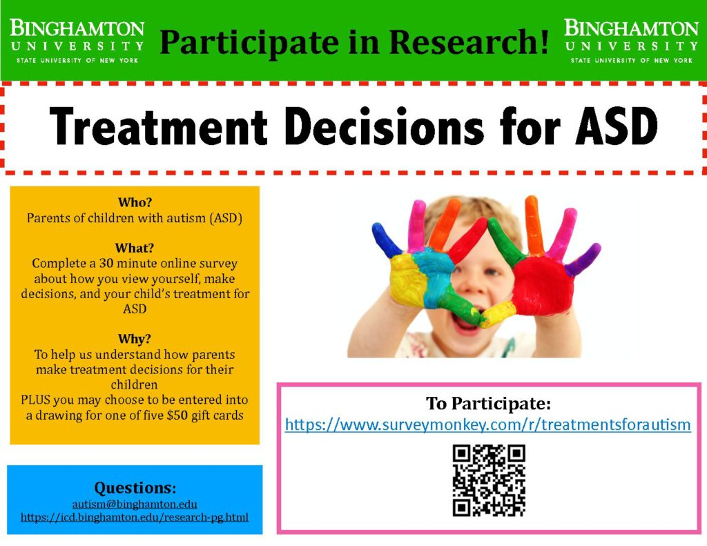 Surveys/Research Opportunities – Autism Society of Oregon